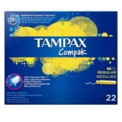 Tampax Compak Regular 22uds